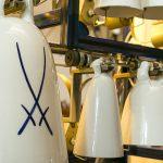 Süß-Mühle Raschau Meißner Porzellanglocken Glocken