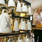 Süß-Mühle Raschau Meißner Porzellanglocken Glocken und Spielerin